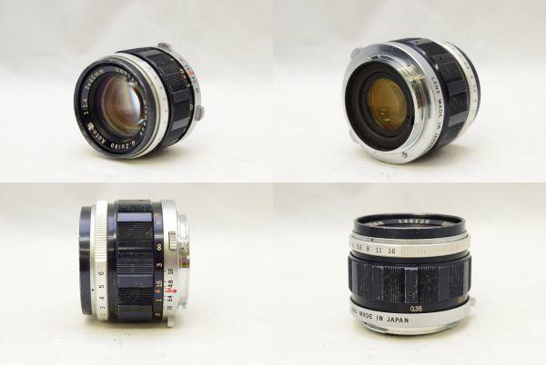 ☆OLYMPUS オリンパス PEN-FT G.ZUIKO AUTO-S 40mm 1:1.4 + ZUIKO Auto-zoom 50-90mm 1:3.5 ジャンク_画像8