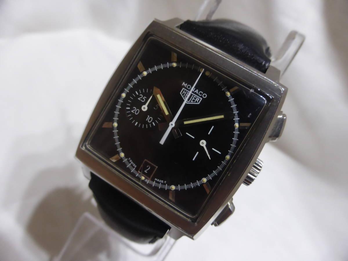 HEUER☆ホイヤー モナコ クロノグラフ 5000本限定 CS2110 自動巻 メンズ 腕時計☆_画像1