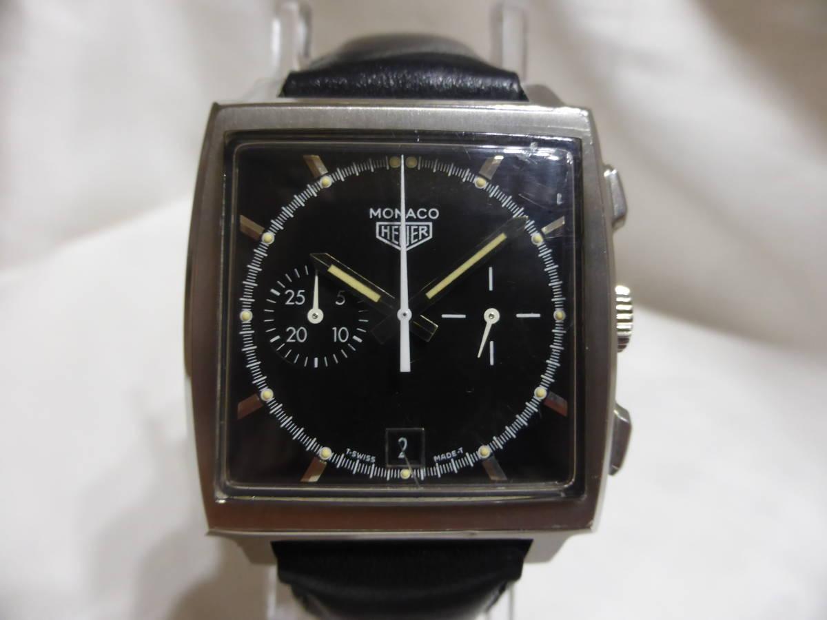 HEUER☆ホイヤー モナコ クロノグラフ 5000本限定 CS2110 自動巻 メンズ 腕時計☆_画像2