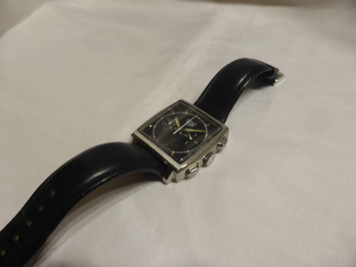 HEUER☆ホイヤー モナコ クロノグラフ 5000本限定 CS2110 自動巻 メンズ 腕時計☆_画像4