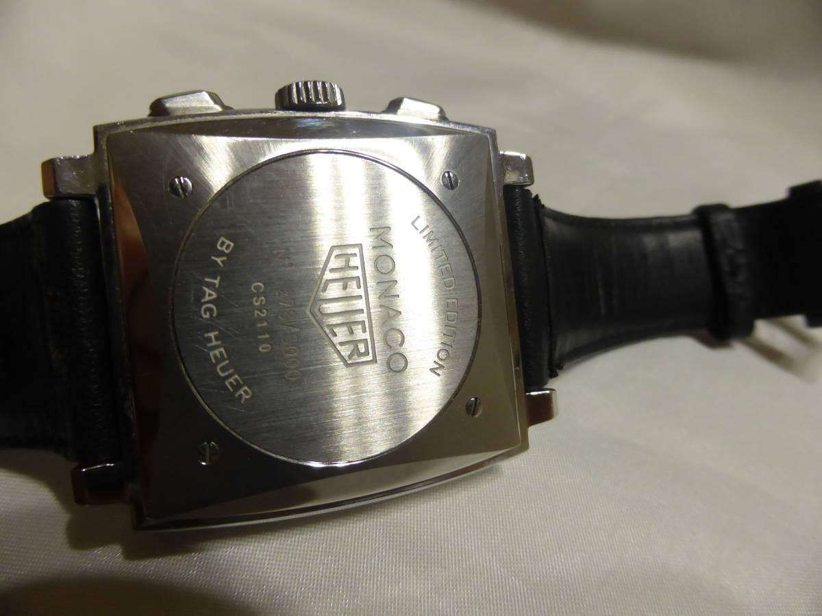 HEUER☆ホイヤー モナコ クロノグラフ 5000本限定 CS2110 自動巻 メンズ 腕時計☆_画像10