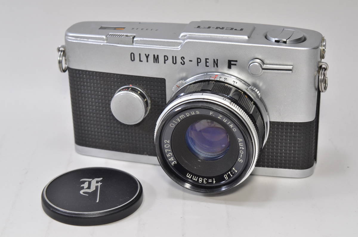 OLYMPUS PEN-FT F.zuiko 38mm F1.8 付属