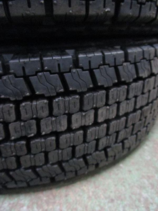 スタッドレス 205/65R16 再生 新品 三菱 キャンター XAB16×5.5K 115-9TC 5穴 両面再塗装 6本セット_画像8