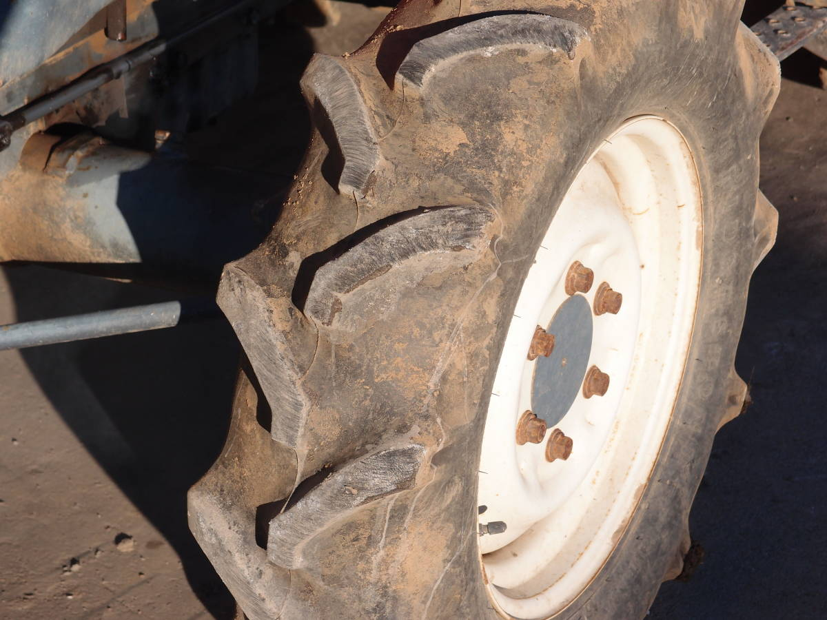 宮城発!中古クボタトラクター GL338 ハイスピード キャビン付 エアコン付 訳あり ジャンク品_画像8