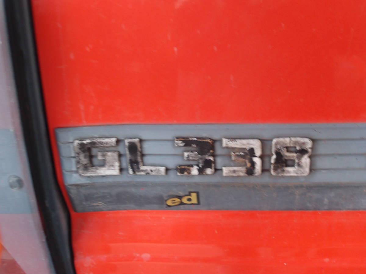 宮城発!中古クボタトラクター GL338 ハイスピード キャビン付 エアコン付 訳あり ジャンク品_画像4