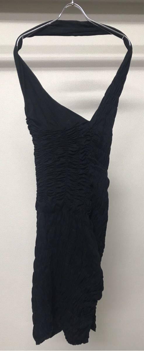 SS1990 90s COMME DES GARCONS GATHERED DRESS ビンテージ コムデギャルソン ギャザー 変型 ドレス ワンピース