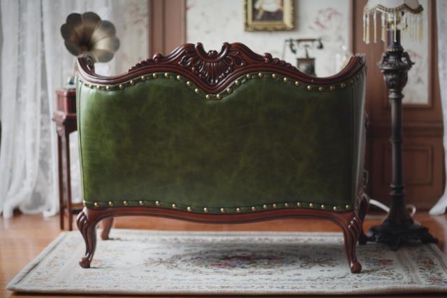 新品 BJD用家具 ソファー 緑色 高品質 ドール用 球体関節人形用 SD/DD/70cm/SD17サイズ通用 復古 撮影 TH-005_画像7