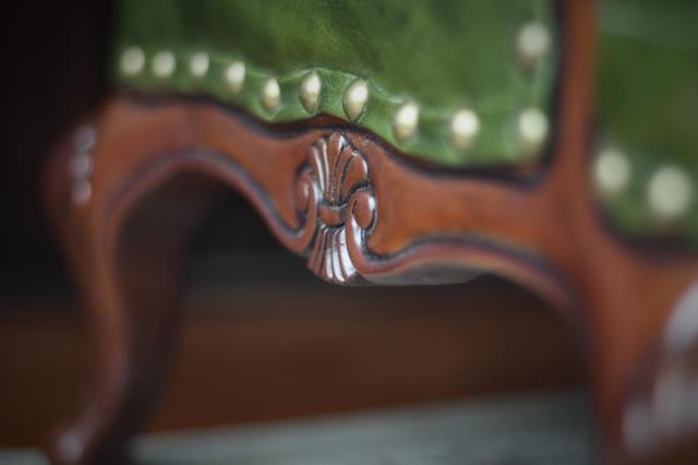 新品 BJD用家具 ソファー 緑色 高品質 ドール用 球体関節人形用 SD/DD/70cm/SD17サイズ通用 復古 撮影 TH-005_画像9