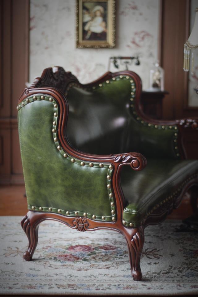 新品 BJD用家具 ソファー 緑色 高品質 ドール用 球体関節人形用 SD/DD/70cm/SD17サイズ通用 復古 撮影 TH-005_画像4
