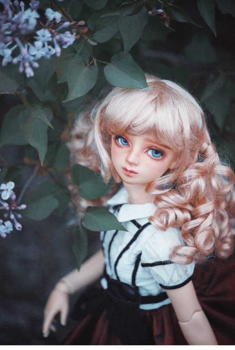 BJD用 球体関節人形用衣装 3点セット 高品質 洋服 復古 SD/MSDサイズ doll ドール用 人形用 同梱可能 YYJ-011_画像10