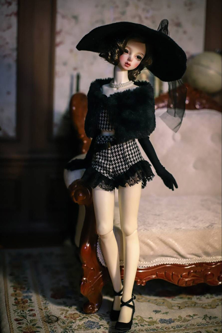 BJD用 球体関節人形用衣装 全3種類 洋服 高品質 復古 SD16/SD/MSDサイズ doll ドール用 人形 同梱可能 YYJ-007_画像4
