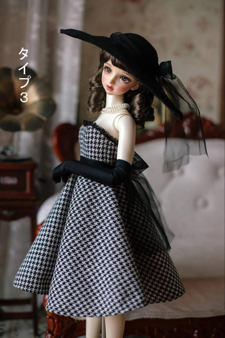 BJD用 球体関節人形用衣装 全3種類 洋服 高品質 復古 SD16/SD/MSDサイズ doll ドール用 人形 同梱可能 YYJ-007_画像9