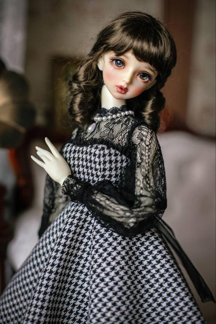 BJD用 球体関節人形用衣装 全3種類 洋服 高品質 復古 SD16/SD/MSDサイズ doll ドール用 人形 同梱可能 YYJ-007_画像10