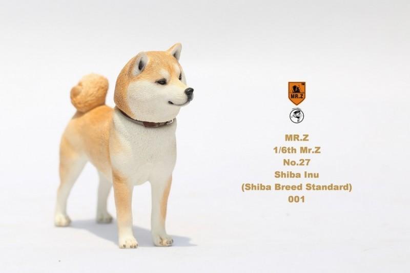 新品 BJD用撮影道具 犬 柴犬 樹脂 全3色 1/6 YSDサイズドール用 Blythe用 doll 球体関節人形用 同梱可能 HX-002_画像2