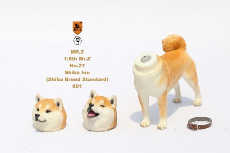 新品 BJD用撮影道具 犬 柴犬 樹脂 全3色 1/6 YSDサイズドール用 Blythe用 doll 球体関節人形用 同梱可能 HX-002_画像3