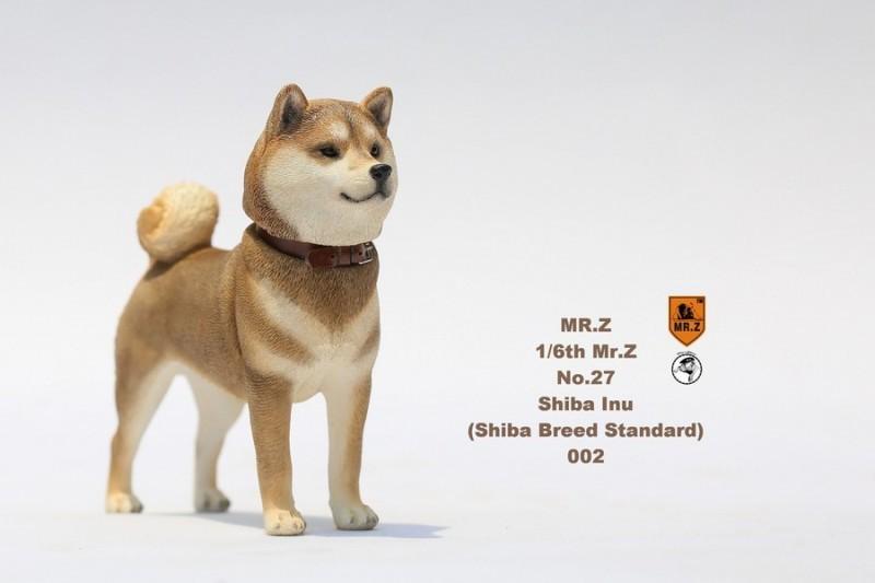 新品 BJD用撮影道具 犬 柴犬 樹脂 全3色 1/6 YSDサイズドール用 Blythe用 doll 球体関節人形用 同梱可能 HX-002_画像5