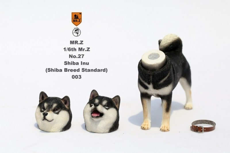 新品 BJD用撮影道具 犬 柴犬 樹脂 全3色 1/6 YSDサイズドール用 Blythe用 doll 球体関節人形用 同梱可能 HX-002_画像9