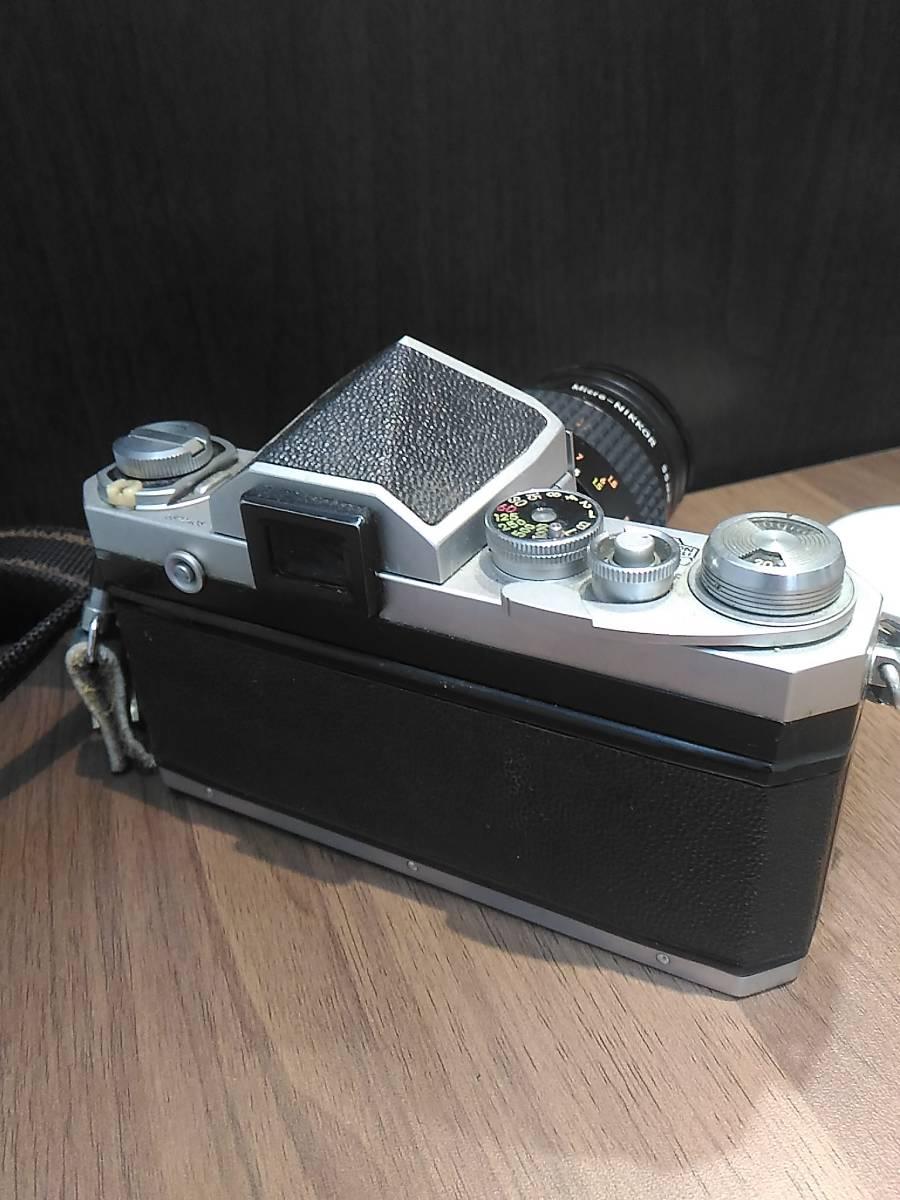 【3798】Nikon  F Niokon  55mm  1:2.8 動作未確認_画像3