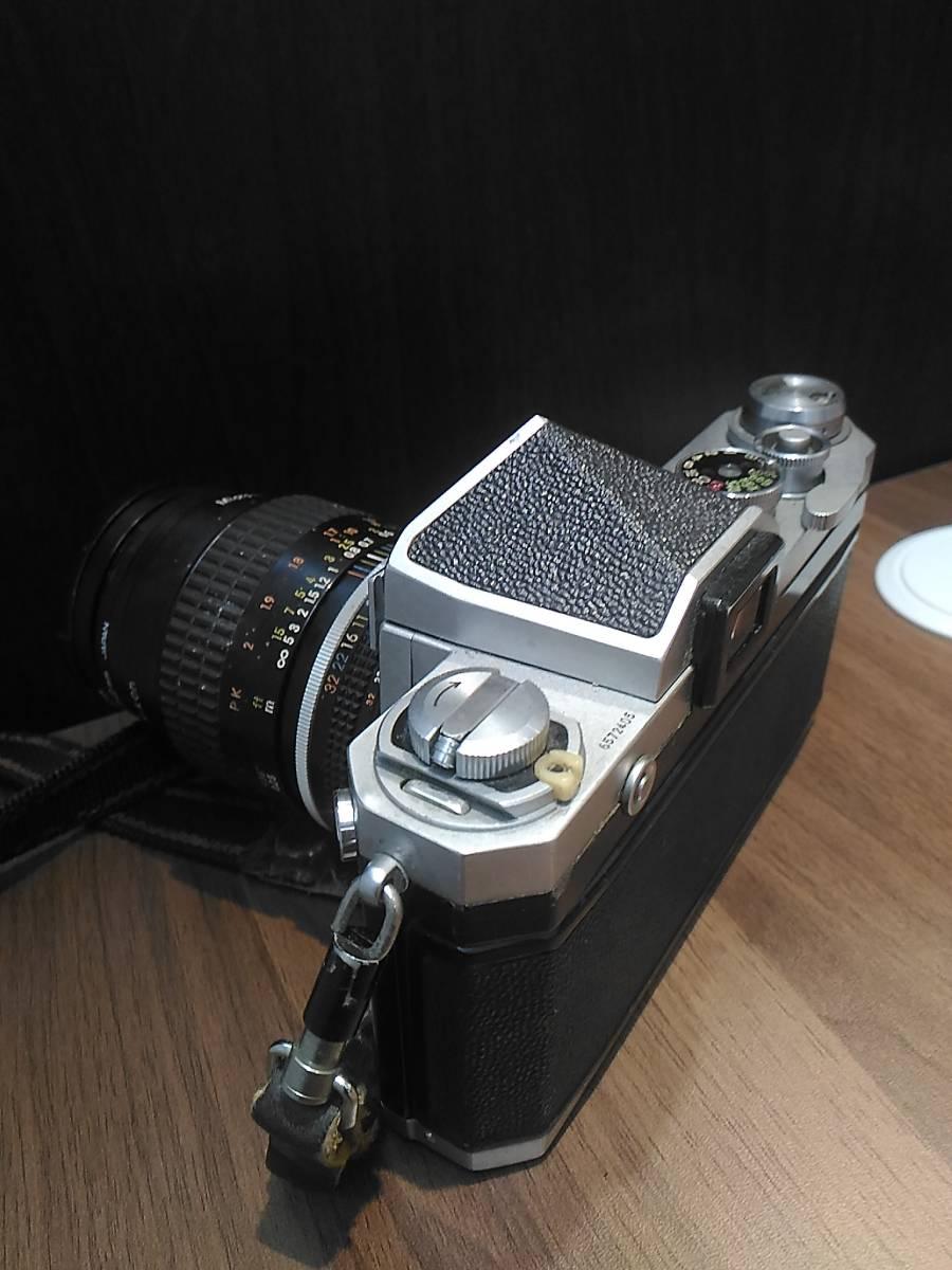 【3798】Nikon  F Niokon  55mm  1:2.8 動作未確認_画像2