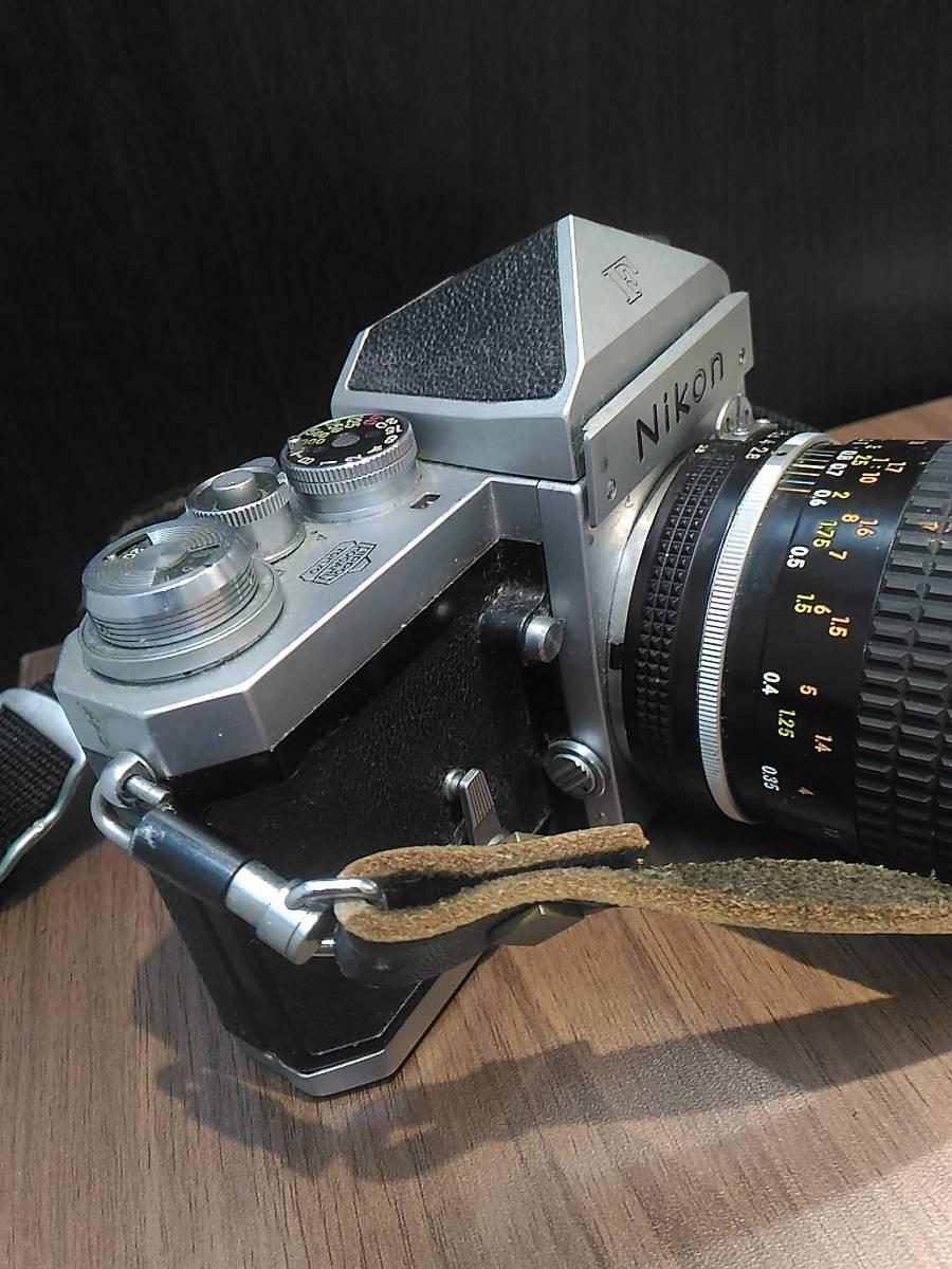【3798】Nikon  F Niokon  55mm  1:2.8 動作未確認_画像4