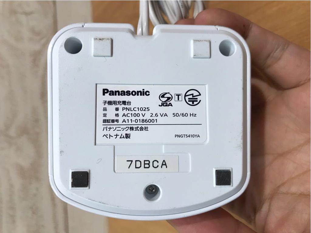パナソニック panasonic VL-WD612 PNLC1025 子機 電話機 中古品_画像6