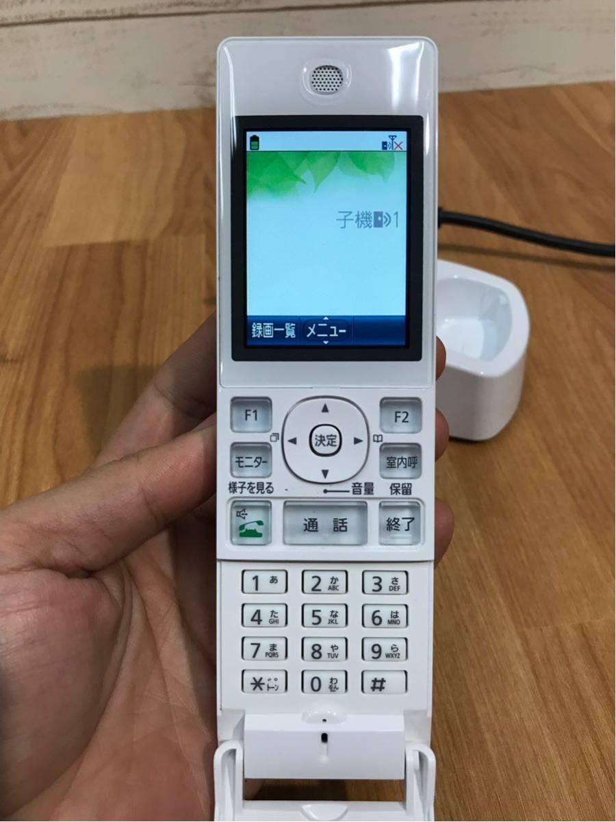 パナソニック panasonic VL-WD612 PNLC1025 子機 電話機 中古品_画像5