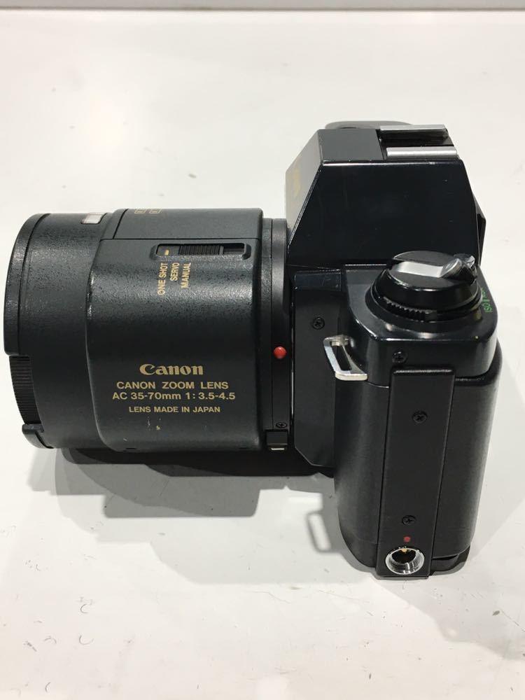 181101B☆ Canon T50 ZOOM LENS AC 35-70mm 1:3.5-4.5 LENS MADE IN JAPAN おまけ付き ♪配送方法=ヤフネコ宅急便サイズ60cm♪_画像3