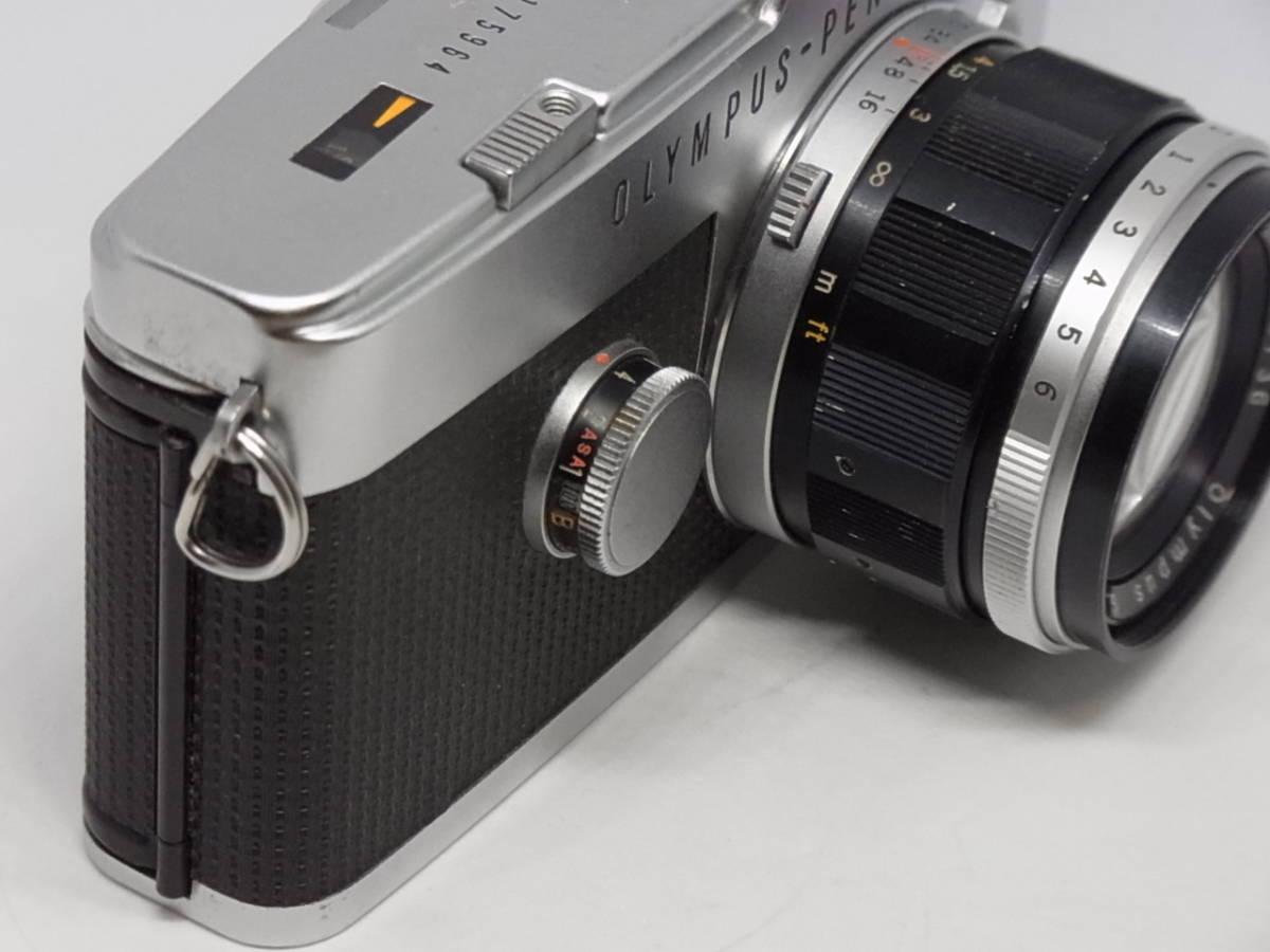 OLYMPUS PEN-F オリンパス ペンFT G.Zuiko Auto-S 1:1.4 f=40mm_画像2