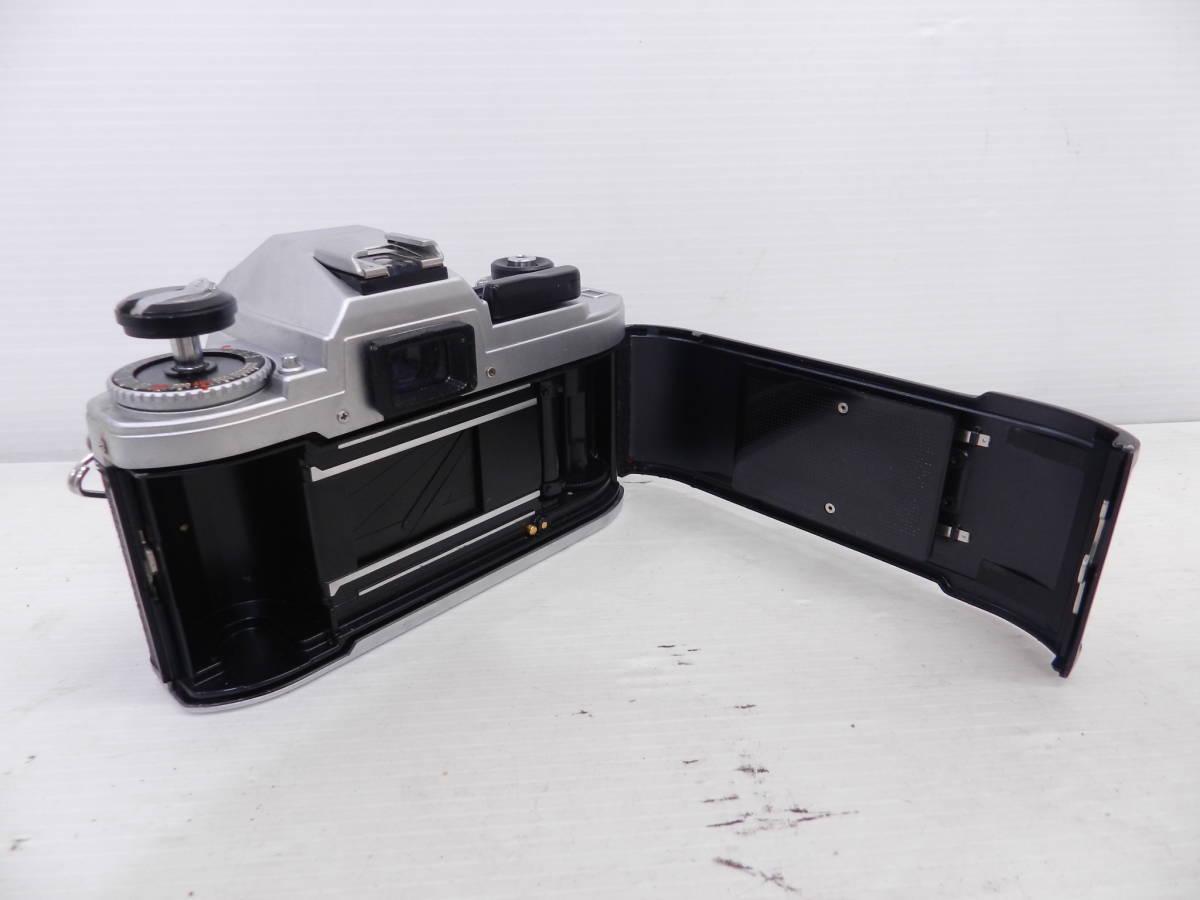 NIKON ニコン/MF 一眼レフカメラ/FG シルバーボディ/動作品/コレクション/管A1132_画像6