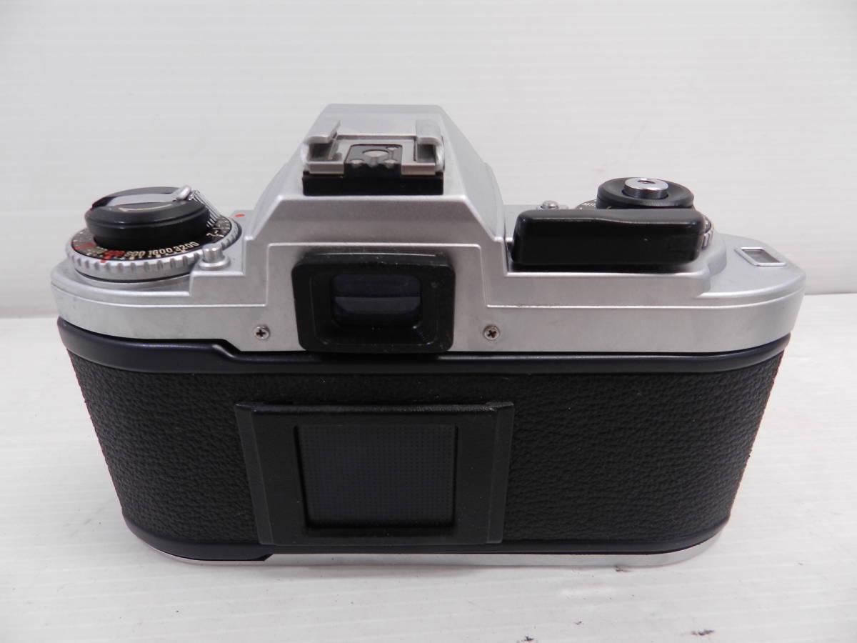 NIKON ニコン/MF 一眼レフカメラ/FG シルバーボディ/動作品/コレクション/管A1132_画像7