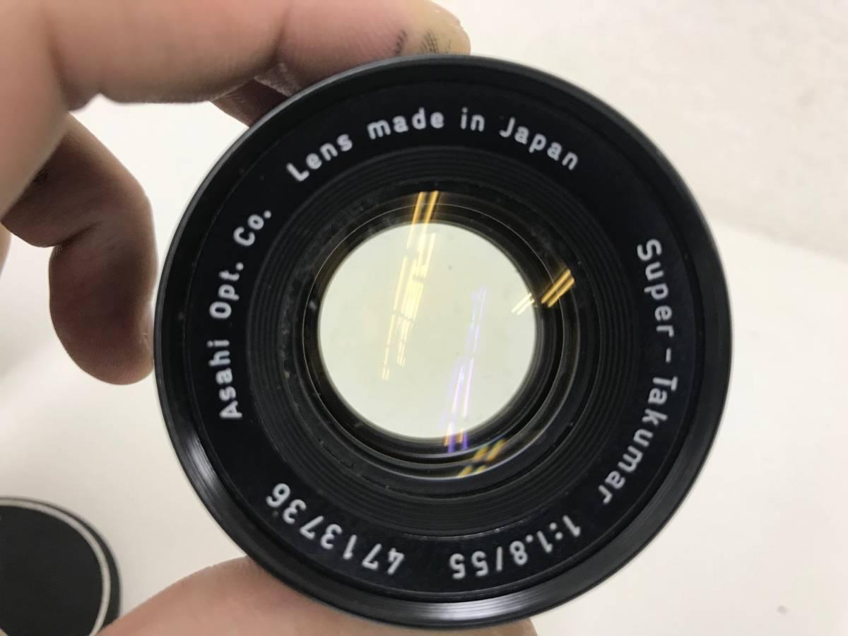 (11568) ☆PENTAXお祭りです☆ ペンタックス大好き大集合  マニュアル カメラ レンズセット シャッター切れました。_画像4