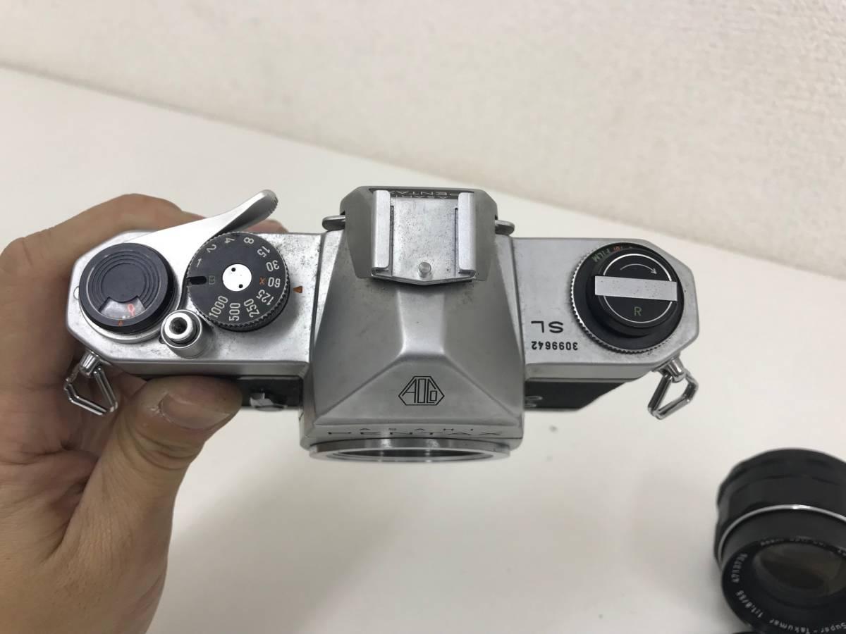 (11568) ☆PENTAXお祭りです☆ ペンタックス大好き大集合  マニュアル カメラ レンズセット シャッター切れました。_画像6