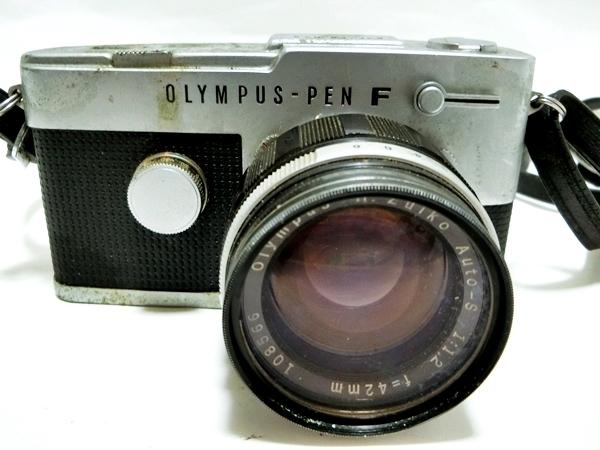 FI016 ◆OLYMPUS◆ オリンパス PEN-FT フィルムカメラ レンズ H.Zuiko Auto-S 1:1.2 f=42mm【1000円スタート】_画像2