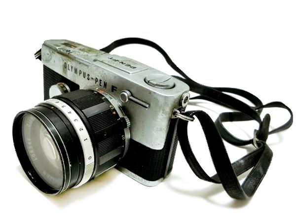 FI016 ◆OLYMPUS◆ オリンパス PEN-FT フィルムカメラ レンズ H.Zuiko Auto-S 1:1.2 f=42mm【1000円スタート】