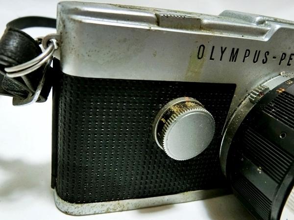 FI016 ◆OLYMPUS◆ オリンパス PEN-FT フィルムカメラ レンズ H.Zuiko Auto-S 1:1.2 f=42mm【1000円スタート】_画像3