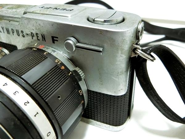 FI016 ◆OLYMPUS◆ オリンパス PEN-FT フィルムカメラ レンズ H.Zuiko Auto-S 1:1.2 f=42mm【1000円スタート】_画像4