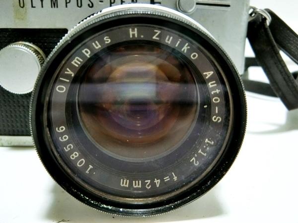 FI016 ◆OLYMPUS◆ オリンパス PEN-FT フィルムカメラ レンズ H.Zuiko Auto-S 1:1.2 f=42mm【1000円スタート】_画像5