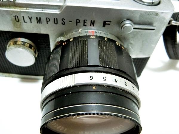 FI016 ◆OLYMPUS◆ オリンパス PEN-FT フィルムカメラ レンズ H.Zuiko Auto-S 1:1.2 f=42mm【1000円スタート】_画像6