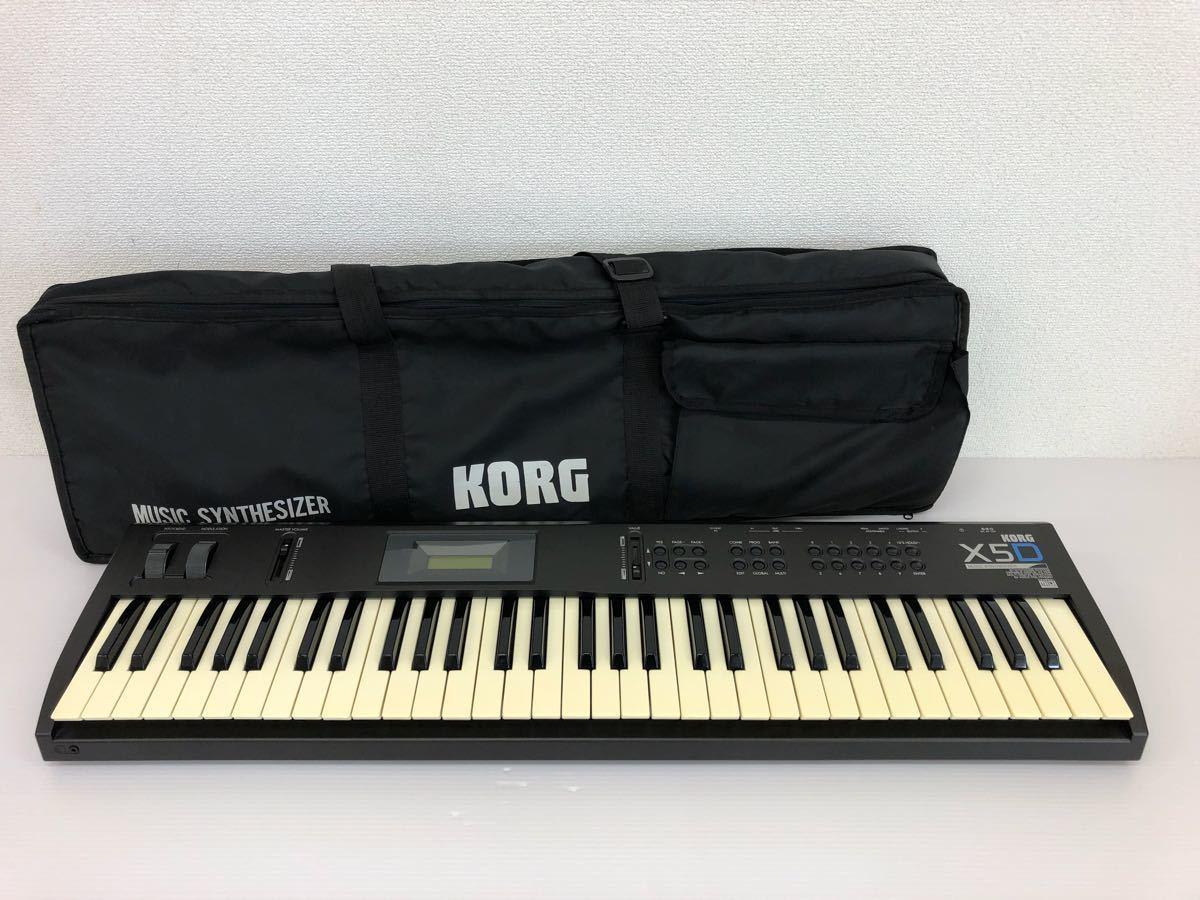 f1108003 KORG ミュージック シンセサイザー X5D 動作未確認 ジャンク