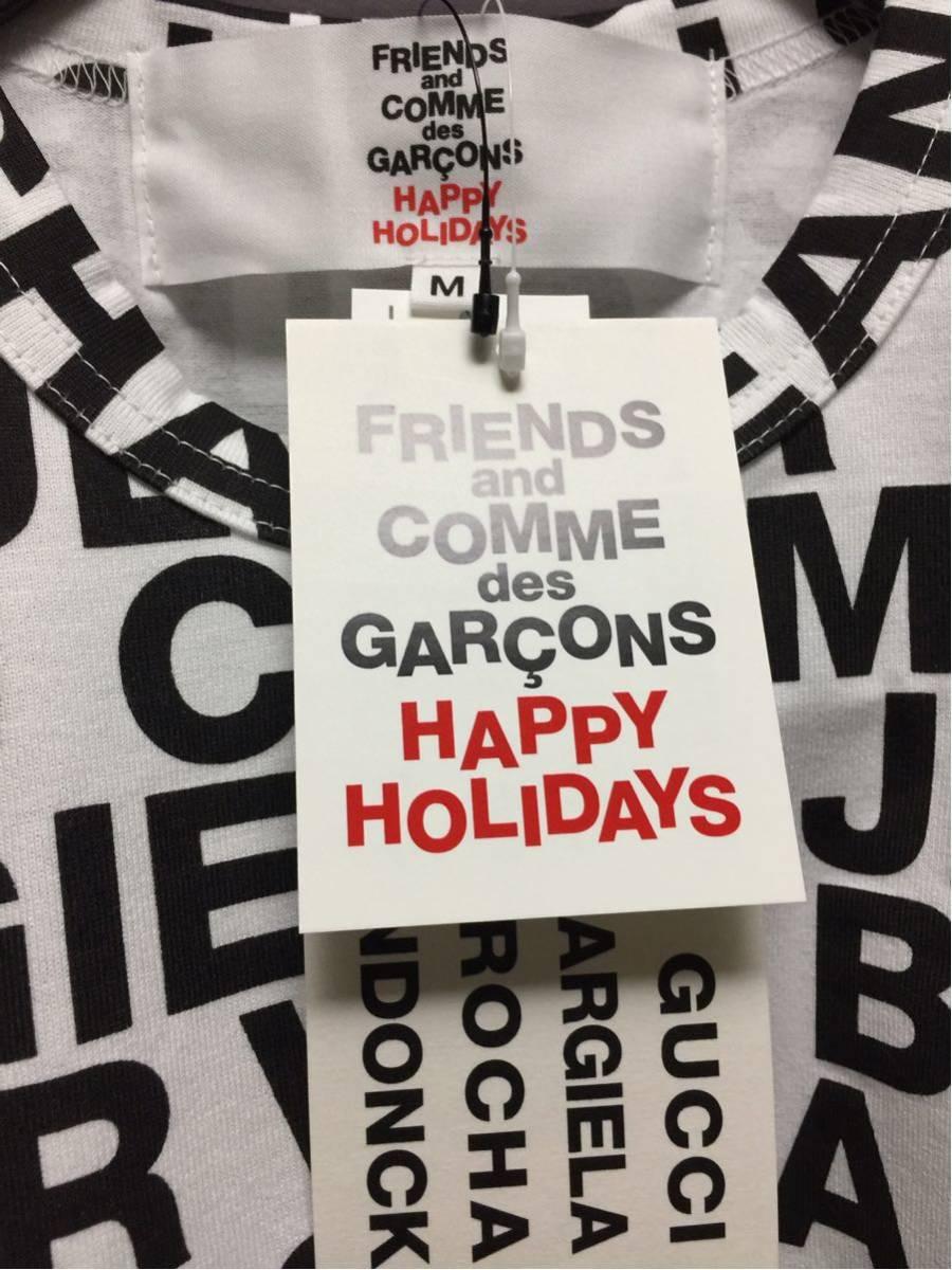 コムデギャルソン ロゴTシャツ クリスマス COMME des GARCONS 半袖Tシャツ Mサイズ ギャルソン GUCCI BURBERRY MAISON MARGIELA GAULTIER_画像3
