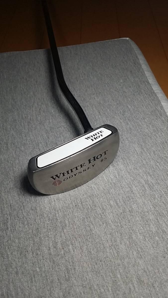 オデッセイ WHITE HOT パター #5 長さ 32センチ、グリップ、オデッセイ