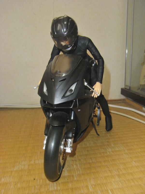 バイク及びライダーのセット フィギュア (1/6)_画像4