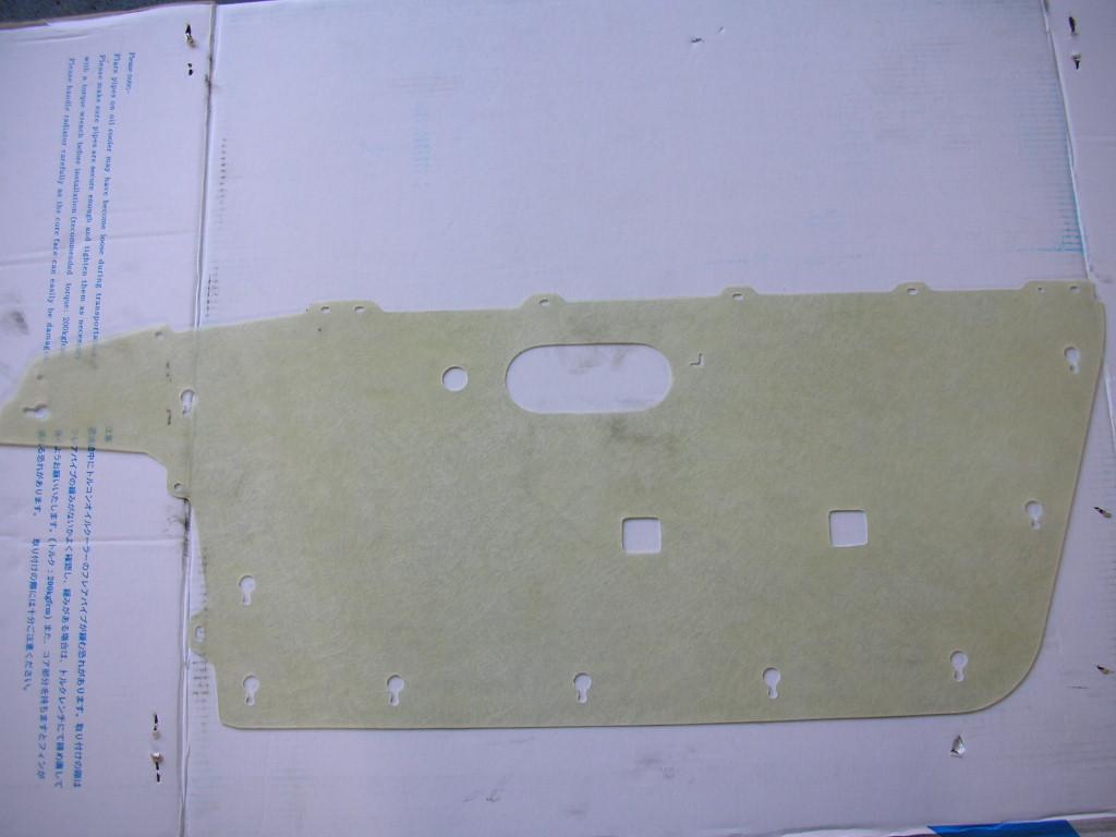 NA6CE NA8C マツダ MX-5 ユーノス ロードスター ドア内張り リペアパーツ FRP製 DIY レストア フォールームス 京都