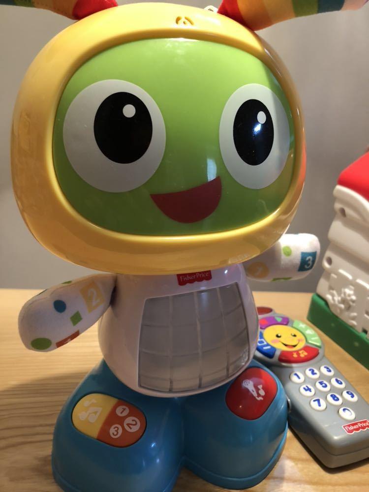 フィッシャープライス 知育玩具 3点セット バイリンガルビーボ バイリンガルハウス リモコン 美品_画像3