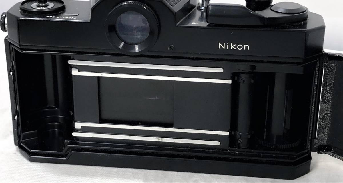 当時物、ジャンク扱い ニコン フィルムカメラ&カメラレンズ Nikomat FT3、AF NIKKOR 50mm 1:1.4_画像7