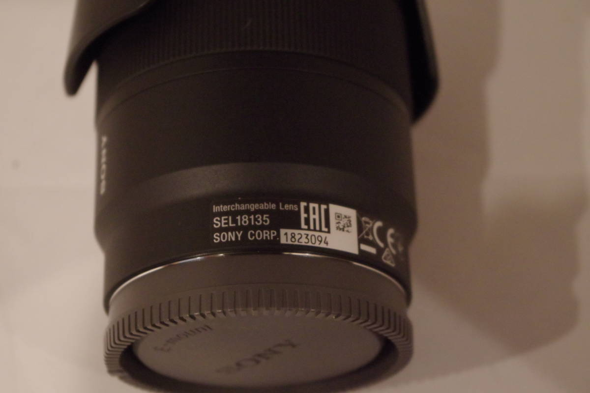SONY SEL 18135 E 18-135 mm F 3.5-5.6 OSS E安裝鏡頭美觀項目僅使用一次 編號:q249003225