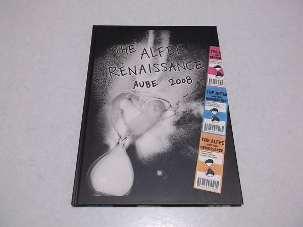 ≪ アルフィー THE ALFEE 【 2008 ツアーパンフ RENAISSANCE 】 美品♪ 高見沢俊彦 坂崎幸之助 桜井賢