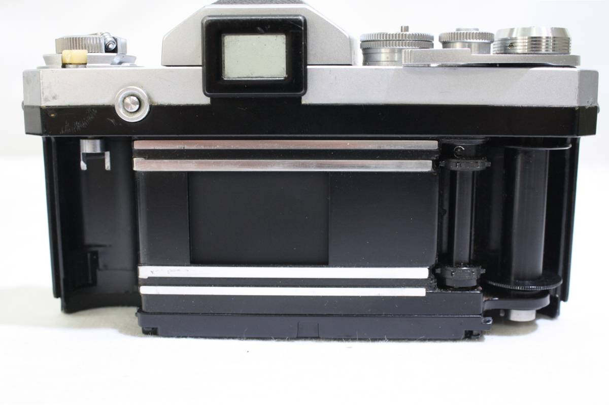 ジャンク品 NIKON ニコン 一眼レフ フィルムカメラ NIKON F NIKKOR S 1:1.4 f=50mm NIKKOR Q 1:3.5 f=13.5cm NIKKOR H 1:3.5 f=2.8cm_画像6