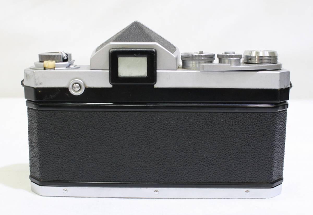 ジャンク品 NIKON ニコン 一眼レフ フィルムカメラ NIKON F NIKKOR S 1:1.4 f=50mm NIKKOR Q 1:3.5 f=13.5cm NIKKOR H 1:3.5 f=2.8cm_画像3