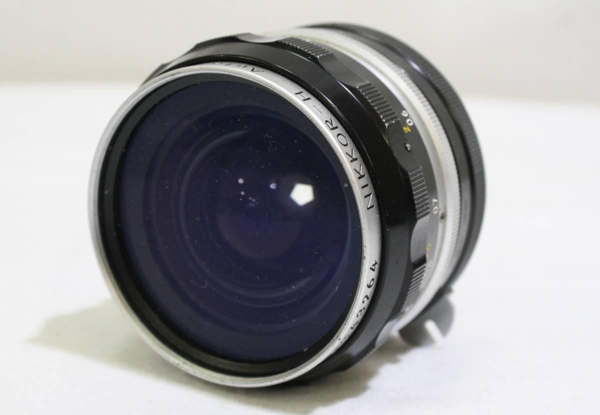 ジャンク品 NIKON ニコン 一眼レフ フィルムカメラ NIKON F NIKKOR S 1:1.4 f=50mm NIKKOR Q 1:3.5 f=13.5cm NIKKOR H 1:3.5 f=2.8cm_画像8
